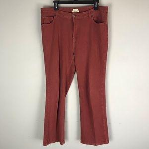 L.L.Bean Classic fit performance stretch jeans